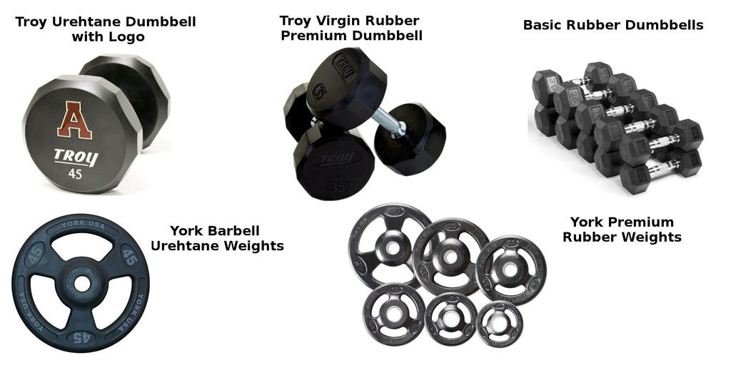 Rubber Vs Urethane Weights