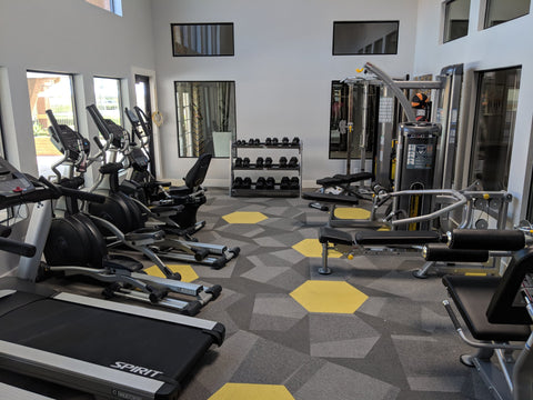 TracFitness used fitness equipment at our New York headquarters.