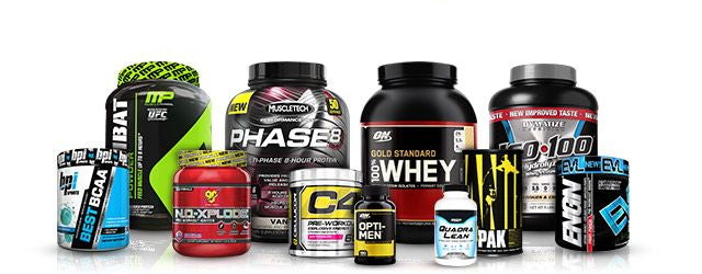 Workout and Performance supplements from TracFitness