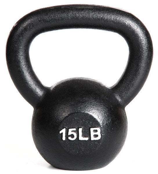 Kettlebell Single15 lbs from York Barbelll