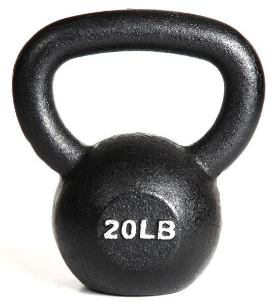 Kettlebell Single 20 lbs from York Barbell