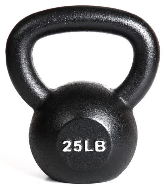 Kettlebell Single 25 lbs from York Barbell