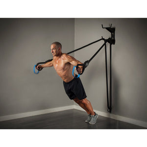 ABS Battle Ropes ST System chest exercise.