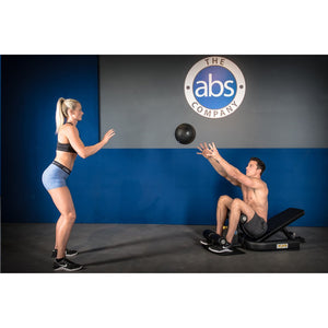 ABS X3S Pro Sissy Squat Bench Abdominal Exercises with Partner