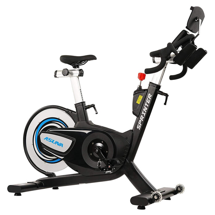ASUNA 6100 Sprinter Magnetic Belt Driven Cycling Bike + LCD Monitor