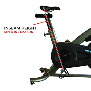 Asuna 5150 Commercial Indoor Cycling Bike Adjustable Seat