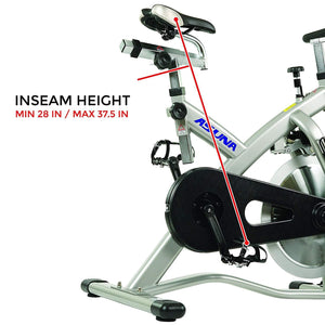 Asuna Sabre Magnetic Indoor Cycling Bike Adjustable Seat