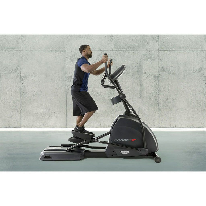Circle Fitness E7 Touchscreen Elliptical Trainer Full Body Workout.