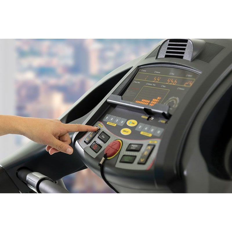 Circle Fitness M6 Light Commercial Treadmill LCD Console.