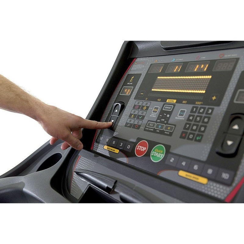 Circle Fitness M8 Treadmill LCD Screen Console.