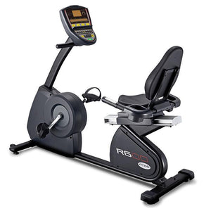 Circle Fitness R6 Recumbent Bike.