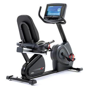 Circle Fitness R7e Touch Screen Recumbent Bike.