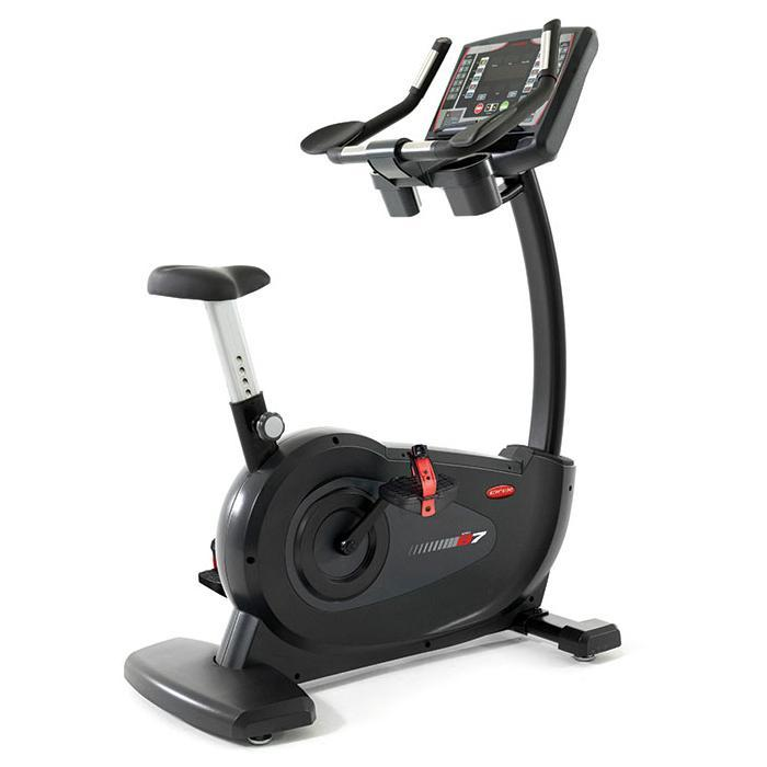 Circle Fitness B7 Self-Powered Upright Bike (CIR-UB7000-C)