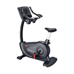 Circle Fitness B7 Self-Powered Upright Bike Full Body.
