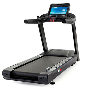 Circle Fitness M8e Touchscreen Treadmill.