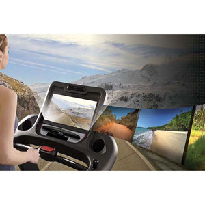 Circle Fitness M8e Touchscreen LCD Console.