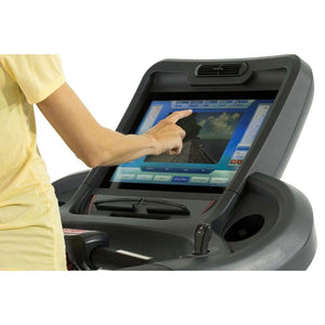 Circle Fitness M8e Touchscreen Treadmill  LCD Screen.