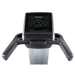 FreeMotion t10.9 Interval REFLEX™ Treadmill Digital Console.