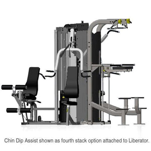 Inflight Fitness CDA Selectorized  Dip Assist Machine