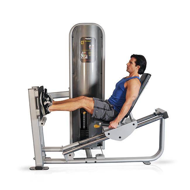 Inflight Fitness Incline Leg Press Calf Raise Selectorized Machine