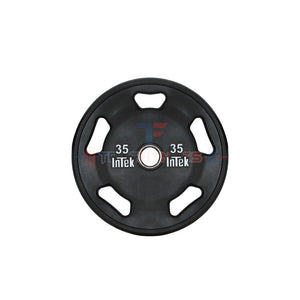 INTEK Armor Series Solid Urethane 35 lb Olympic Plate