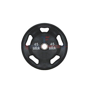 INTEK Armor Series Solid Urethane 45 lb Olympic Plate