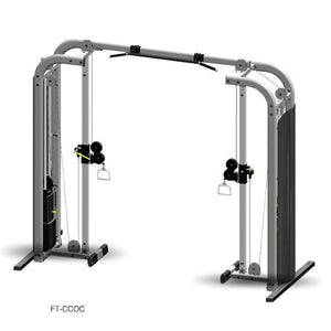 "Inflight Fitness FT-CCOC Cable Crossover with 54"" crossbeam."