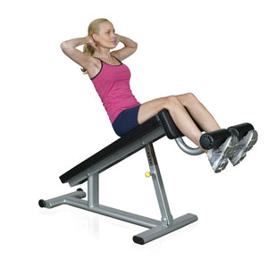 Inflight Fitness Adjustable Abdominal Decline Bench at 45 degree.s