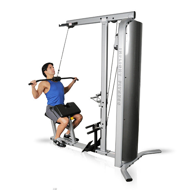 Inflight Fitness Lat Pulldown Exercise.