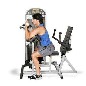 Preacher curl workout on the Inflight Fitness Multi Bicep Triceps Machine.