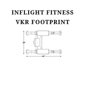 Inflight Fitness VKR Footprint schematics.
