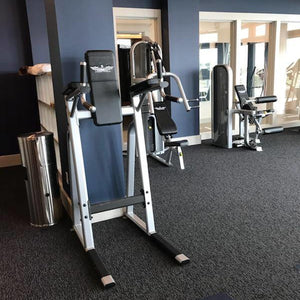 Inflight Fitness VKR Vertical Knee Raise in a Luxury Gym