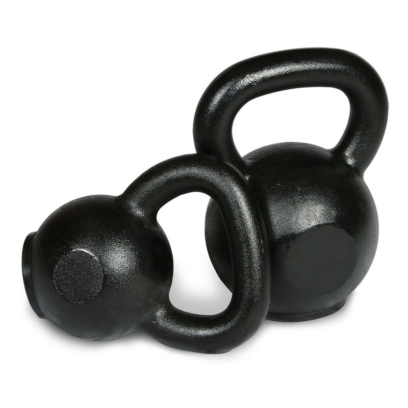 Intek Cast Iron Kettlebells with Rubber Base.