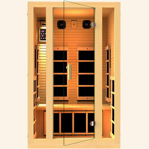 JNH LifeStyles Joyous 2 Person Infrared Sauna.