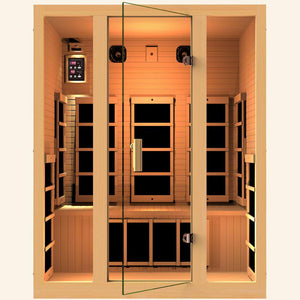 JNH LifeStyles Joyous 3 Person Infrared Sauna.