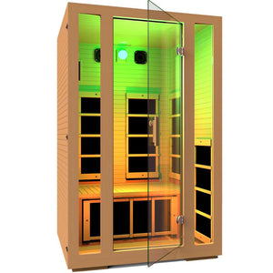 JNH LifeStyles Green Chromotherapy Light for JNH Infrared Saunas.