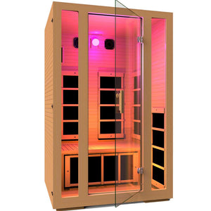 JNH LifeStyles Pink Chromotherapy Light for JNH Infrared Saunas.