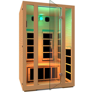 JNH LifeStyles Teal Chromotherapy Light for JNH Infrared Saunas.