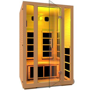 JNH LifeStyles Yellow Chromotherapy Light for JNH Infrared Saunas.