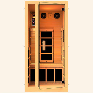 JNH LifeStyles Joyous 1 Person Infrared Sauna.