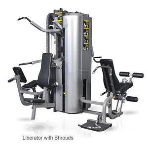 Inflight Fitness Liberator Multi Station Gym 3 Station with Shrouds.