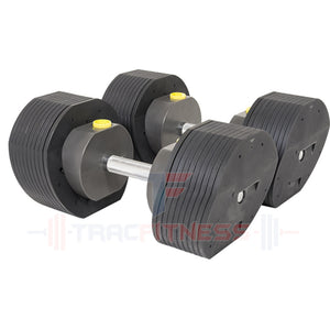 MX55 Select Adjustable Dumbbells - Most Compact 5 to 55 lb Dumbbells.