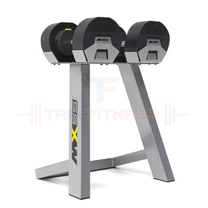 MX55 Select Compact Adjustable Dumbbells 5 to 55lbs - alternate view.
