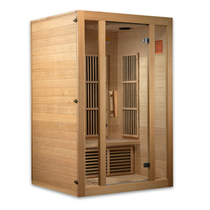 Maxxus Seattle Low EMF Carbon Canadian Hemlock 2 Person Infrared Sauna.