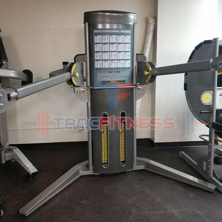 Muscle D Multi-Functional Trainer MDM-MFT - show with arms extended.