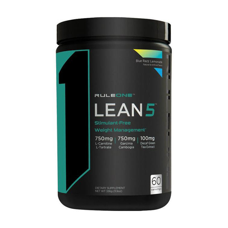 Rule One R1 Lean 5 Fat Burner 336 Grams.