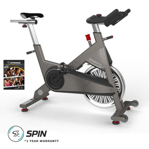 Spinner P3 Performance Series Spin Bike with Spin DvD.