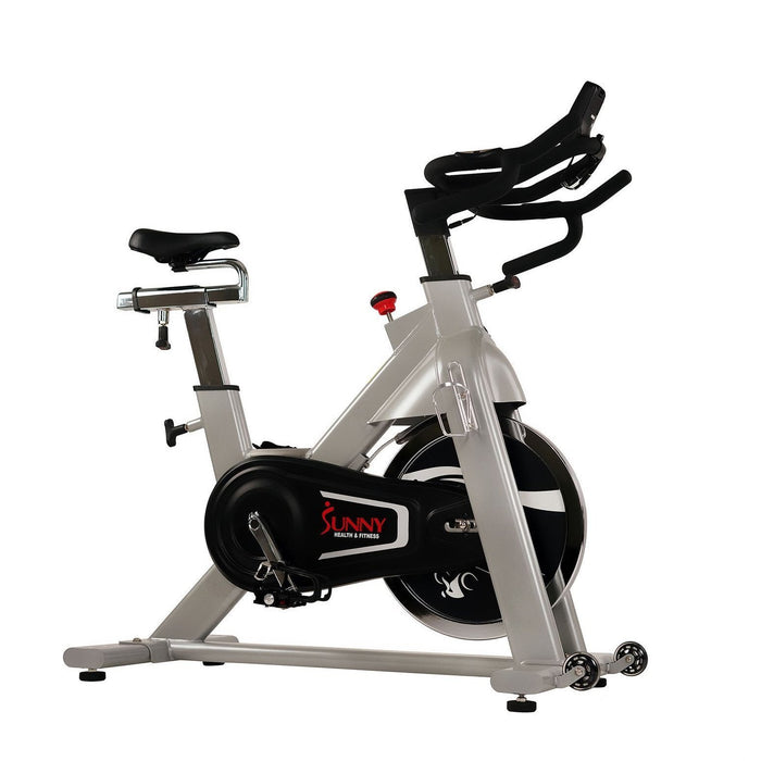 Sunny Health & Fitness SF-B1735 Commercial Indoor Cycling Bike w/ Monitor