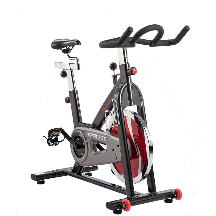 Sunny Health & Fitness SF-B1002 Belt Drive Indoor Cycling Bike