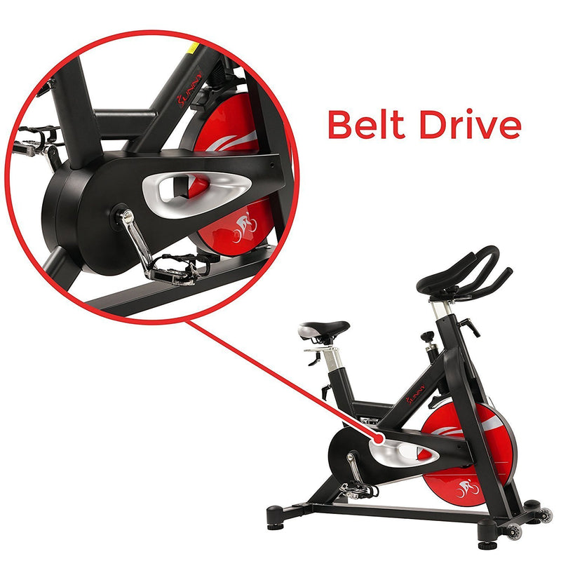 Sunny Health & Fitness SF-B1714 Evolution Pro Indoor Cycle - Belt Drive.
